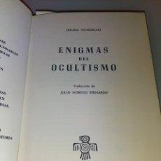 Libros de segunda mano: ENIGMAS DEL OCULTISMO -- JULIEN TONDRIALI COLECCIÓN GRANDES ENIGMAS. Lote 158748658