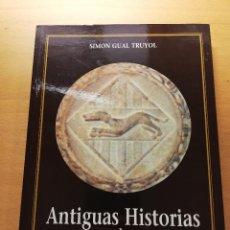 Libros de segunda mano: ANTIGUAS HISTORIAS DE INCA (SIMON GUAL TRUYOL). Lote 158757238