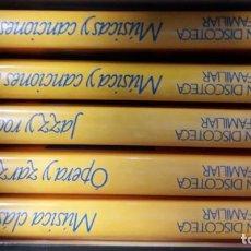 Libros de segunda mano: LIBROS GRAN DISCOTECA FAMILIAR. Lote 158771514