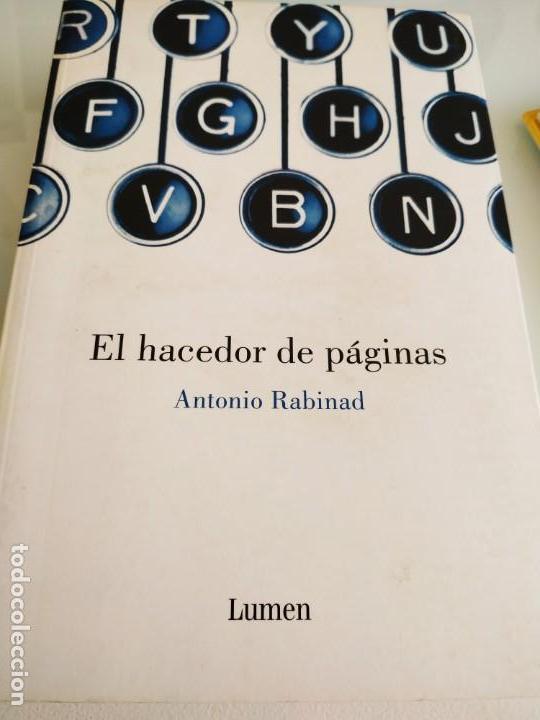 ANTONIO RABINAD EL HACEDOR DE PÁGINAS (Libros de Segunda Mano (posteriores a 1936) - Literatura - Otros)
