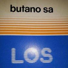 Libros de segunda mano: LOS G.L.P. GASES LICUADOS PETRÓLEO BUTANO SA 1985 QUEMADOR ENVASE CÁLCULO CIRCUITO MONTAJE INDUSTRIA. Lote 158805530