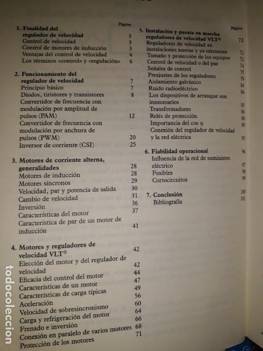 Libros de segunda mano: REGULADORES ELECTRÓNICOS DE VELOCIDAD VLT DANFOSS DIBUJOS DIVERTIDOS MOTORES INVERSIÓN CÁLCULO PAR - Foto 2 - 158817498