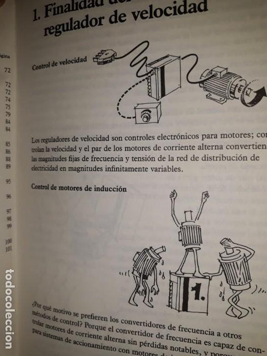 Libros de segunda mano: REGULADORES ELECTRÓNICOS DE VELOCIDAD VLT DANFOSS DIBUJOS DIVERTIDOS MOTORES INVERSIÓN CÁLCULO PAR - Foto 3 - 158817498