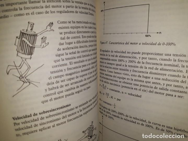 Libros de segunda mano: REGULADORES ELECTRÓNICOS DE VELOCIDAD VLT DANFOSS DIBUJOS DIVERTIDOS MOTORES INVERSIÓN CÁLCULO PAR - Foto 5 - 158817498