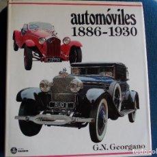 Libros de segunda mano: AUTOMOVILES 1886 1930. Lote 158843650