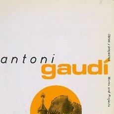 Libros de segunda mano: ANTONI GAUDÍ. Lote 158852858