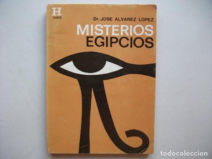 MISTERIOS EGIPCIOS (1998) - JOSE ALVAREZ LOPEZ - ISBN: 9789501700190 (Libros de Segunda Mano - Parapsicología y Esoterismo - Otros)