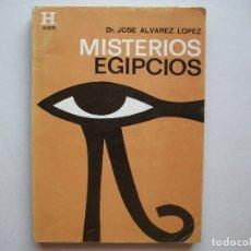 Libros de segunda mano: MISTERIOS EGIPCIOS (1998) - JOSE ALVAREZ LOPEZ - ISBN: 9789501700190. Lote 152705632