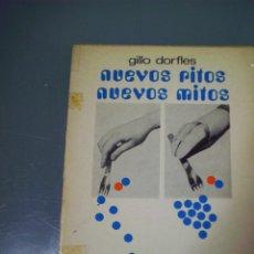 Libros de segunda mano: NUEVOS RITOS NUEVOS MITOS - GILLO DORFLES. Lote 158998670