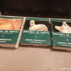 Libros de segunda mano: HISTORIA DE ESPAÑA...RAMON MENENDEZ PIDAL.....TOMO I..1.2.Y 3 PARTE.........1975....... Lote 159041074