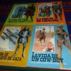 Libros de segunda mano: HISTORIA VIVA LA VIDA DE UN CABALLERO, ARTISTA FLORENTINO, COW-BOY Y PILOTO DE CAZA. ALTEA 1981. . Lote 159051330