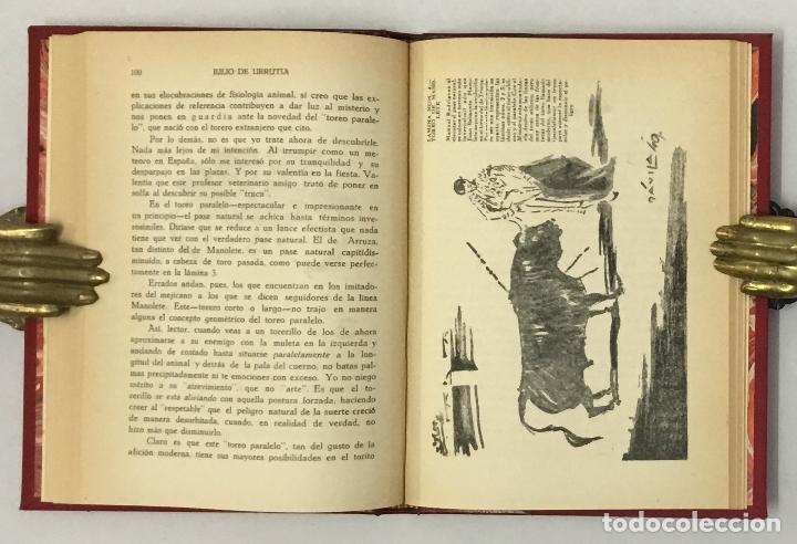 Libros de segunda mano: TOREO PARALELO. - URRUTIA, Julio de. TAUROMAQUIA, TOROS, TOREO. - Foto 4 - 159108706