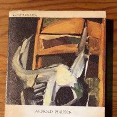 Libros de segunda mano: HISTORIA SOCIAL DE LA LITERATURA Y EL ARTE-III (30€). Lote 159144674
