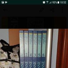 Libros de segunda mano: LAROUSSE.GRANDES HEROES DE LA HISTORIA.COMIC.6 TOMOS. MIOSANGELIN.. Lote 159170718