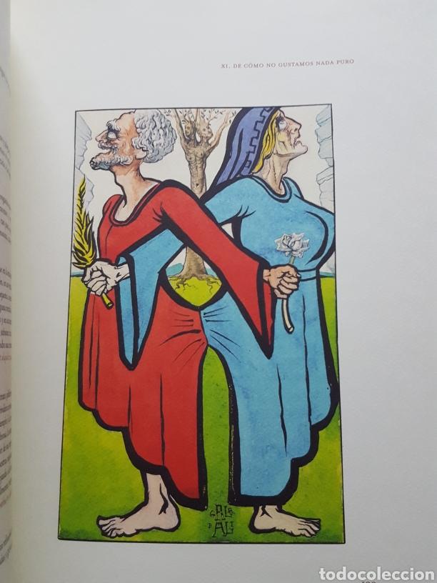 Libros de segunda mano: LOS ENSAYOS DE MONTAIGNE ILUSTRACIONES DE SALVADOR DALI. Edición única, limitada y numerada. 2005. - Foto 6 - 159250322