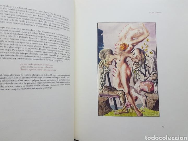 Libros de segunda mano: LOS ENSAYOS DE MONTAIGNE ILUSTRACIONES DE SALVADOR DALI. Edición única, limitada y numerada. 2005. - Foto 7 - 159250322