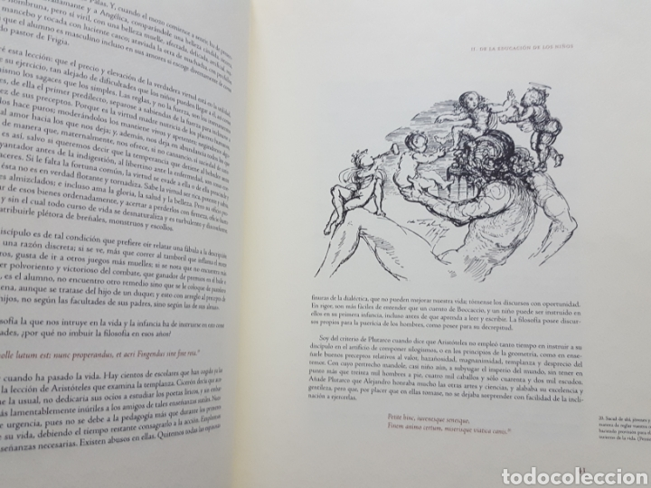 Libros de segunda mano: LOS ENSAYOS DE MONTAIGNE ILUSTRACIONES DE SALVADOR DALI. Edición única, limitada y numerada. 2005. - Foto 8 - 159250322