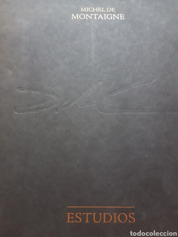 Libros de segunda mano: LOS ENSAYOS DE MONTAIGNE ILUSTRACIONES DE SALVADOR DALI. Edición única, limitada y numerada. 2005. - Foto 9 - 159250322