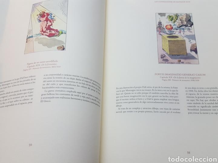 Libros de segunda mano: LOS ENSAYOS DE MONTAIGNE ILUSTRACIONES DE SALVADOR DALI. Edición única, limitada y numerada. 2005. - Foto 10 - 159250322