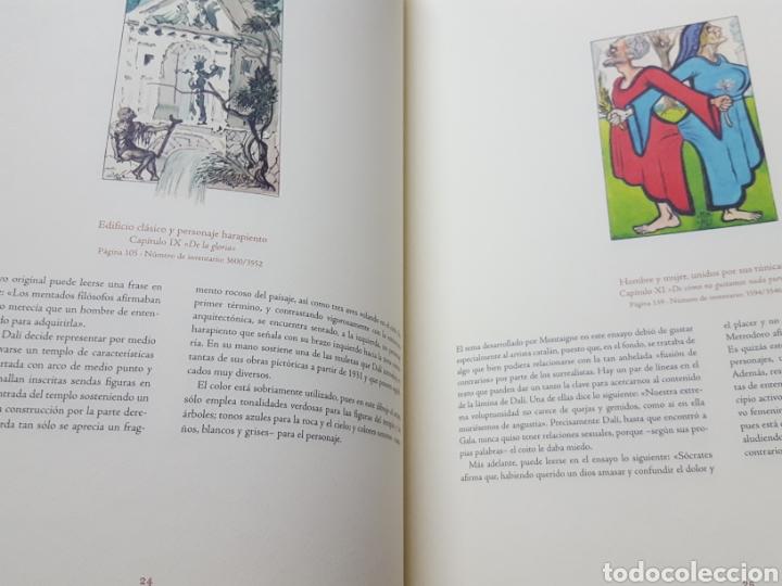 Libros de segunda mano: LOS ENSAYOS DE MONTAIGNE ILUSTRACIONES DE SALVADOR DALI. Edición única, limitada y numerada. 2005. - Foto 11 - 159250322