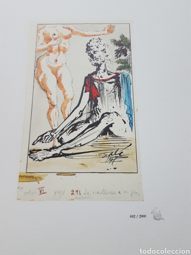 Libros de segunda mano: LOS ENSAYOS DE MONTAIGNE ILUSTRACIONES DE SALVADOR DALI. Edición única, limitada y numerada. 2005. - Foto 17 - 159250322
