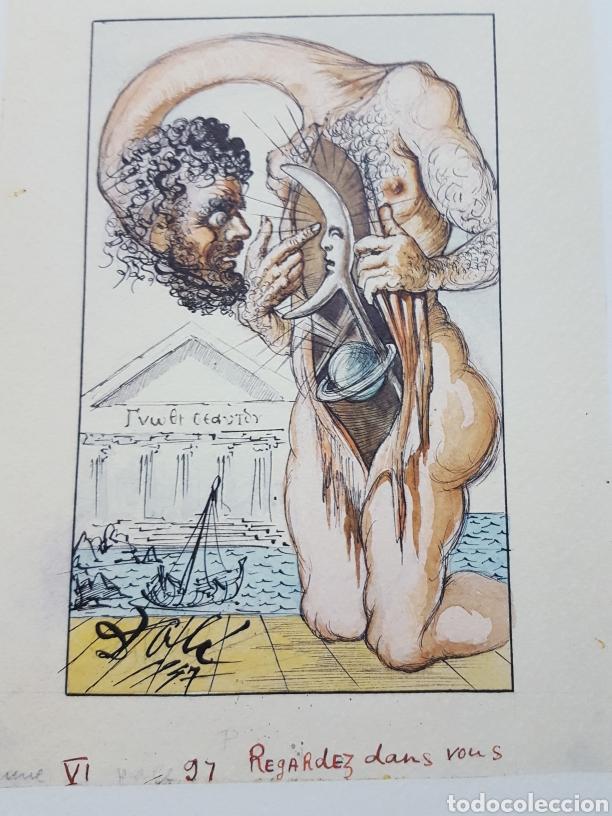 Libros de segunda mano: LOS ENSAYOS DE MONTAIGNE ILUSTRACIONES DE SALVADOR DALI. Edición única, limitada y numerada. 2005. - Foto 19 - 159250322