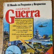 Libros de segunda mano: LIBRO ILUSTRADO - MÁQUINAS DE GUERRA (1978) - SM. Lote 159292046