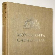 Libros de segunda mano: TRENS, MANUEL - LES MAJESTATS CATALANES. MONUMENTA CATALONIAE, VOL XIII - BARCELONA 1967 - MOLT IL·L. Lote 159332401