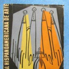Libros de segunda mano - CATÁLOGO III BIENAL HIPANOAMERÍCANA DE ARTE. BARCELONA, 1955. - 159400022