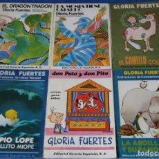 Libros de segunda mano: GLORIA FUERTES - EDITORIAL ESCUELA ESPAÑOLA - 6 LIBROS. Lote 159428702