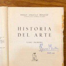 Libros de segunda mano: HISTORIA DEL ARTE DIEGO ANGULO IÑIGUEZ -TOMO I (19€). Lote 159433718