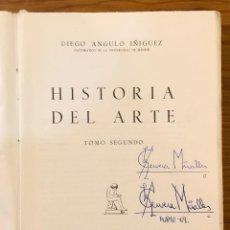 Libros de segunda mano: HISTORIA DEL ARTE DIEGO ANGULO IÑIGUEZ -TOMO II (19€). Lote 159433814