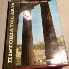 Libros de segunda mano: HISTORIA DEL ARTE LOUIS HAUTECOEUR-HISTORIA ARTE I(15€). Lote 159434334