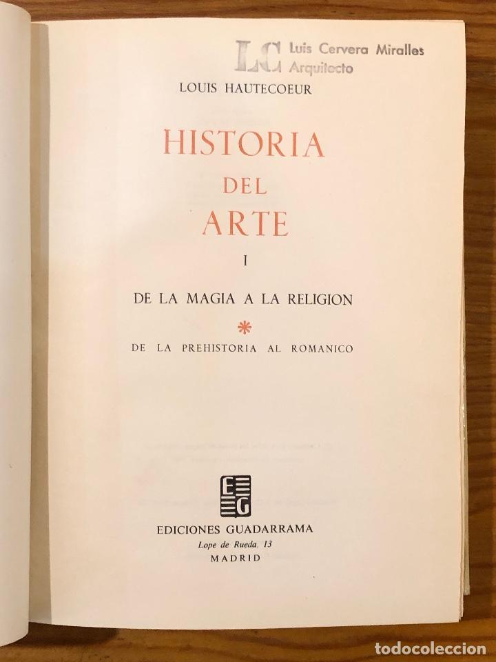 Libros de segunda mano: HISTORIA DEL ARTE Louis Hautecoeur-HISTORIA ARTE I(15€) - Foto 2 - 159434334