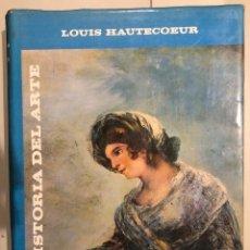 Libros de segunda mano: HISTORIA DEL ARTE LOUIS HAUTECOEUR-HISTORIA ARTE V(15€). Lote 159434578
