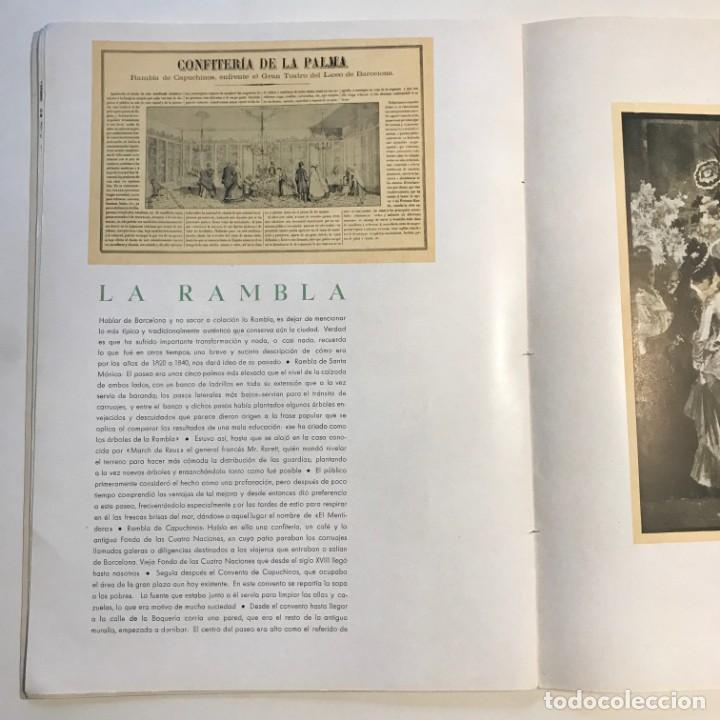 Libros de segunda mano: 1939 Barcelona sentimental Opúsculo Número 1,. Ejemplar numerado - Foto 5 - 159448002