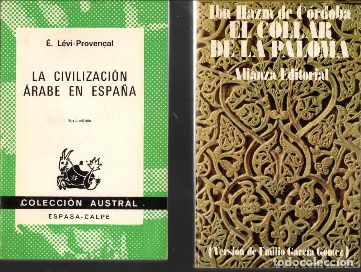 Dos libros de bolsillo: civilización árabe en e - Vendido