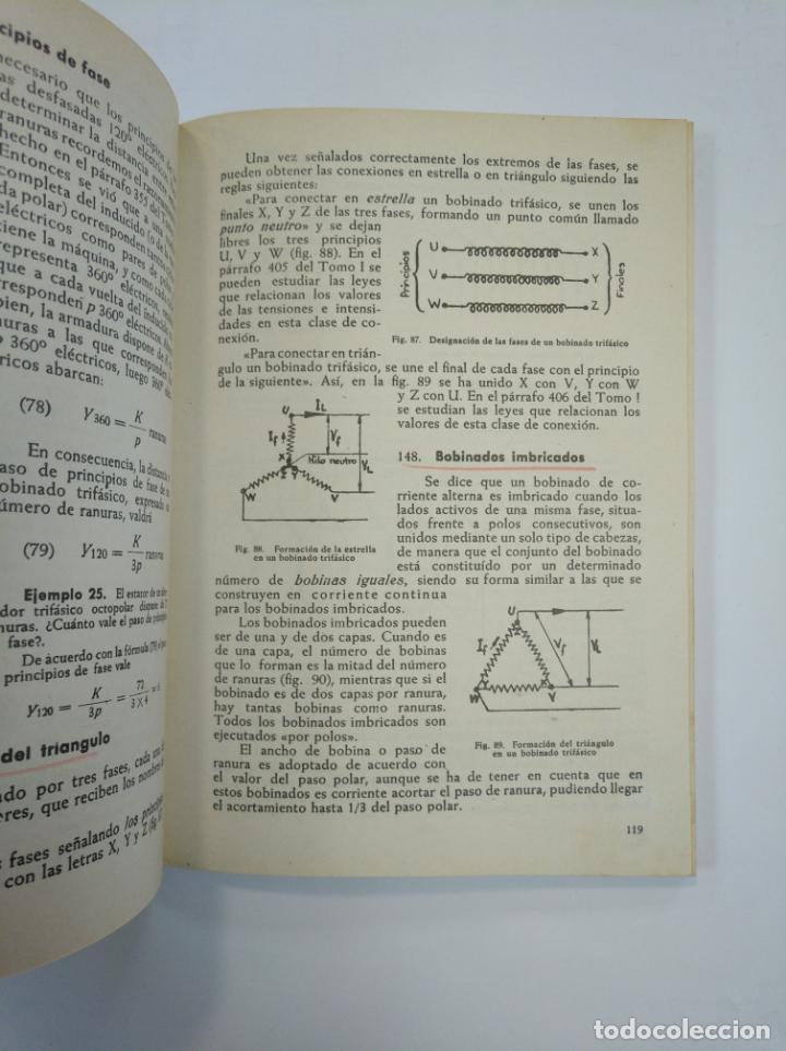 Libros de segunda mano: TRATADO PRACTICO DE ELECTROTECNIA. J. RAPP. 2 VOLUMENES. TOMO I Y II. EDITORIAL VAGMA BILBAO. TDK382 - Foto 4 - 159476414