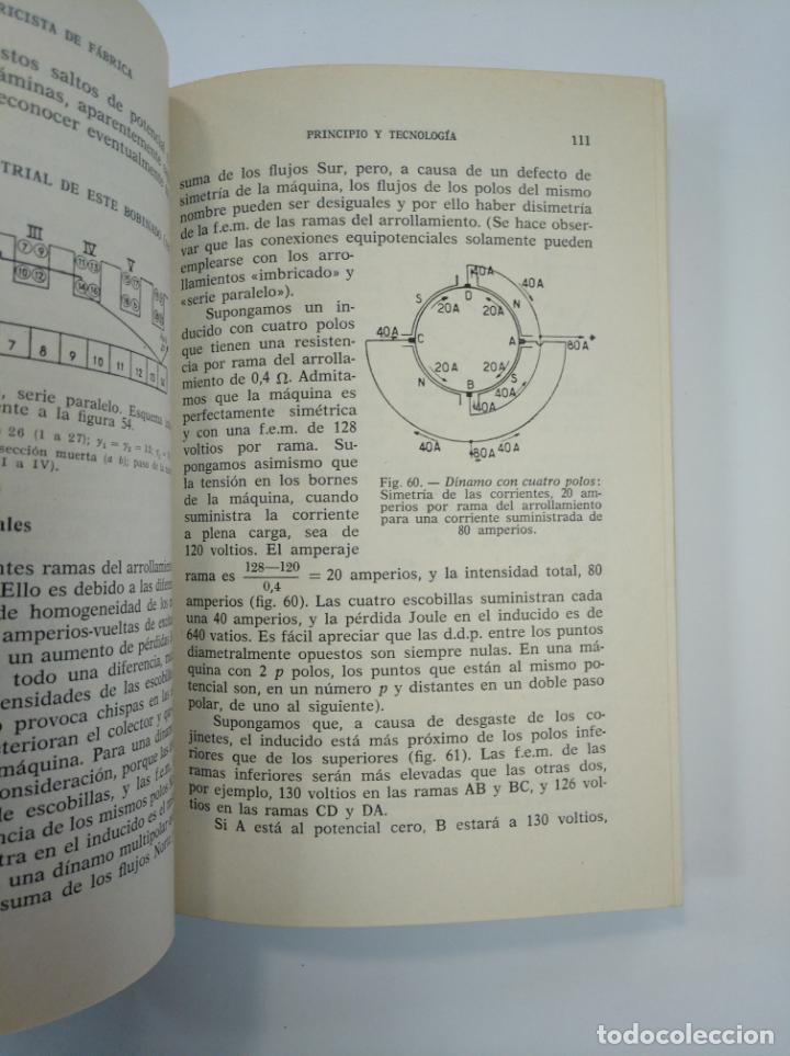 Libros de segunda mano: EL ELECTRICISTA DE FABRICA. USO, CONSERVACION Y REPARACIONES MAQUINAS ELECTRICAS. E. MAUREIN TDK382 - Foto 2 - 159492706