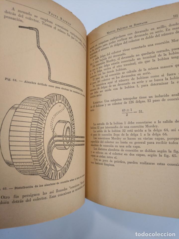 Libros de segunda mano: BOBINAJES. FRITZ RASKOP. KLUG, MARCHINO Y CIA. EDITORIAL PAN AMERICA. TDK382 - Foto 2 - 159493634
