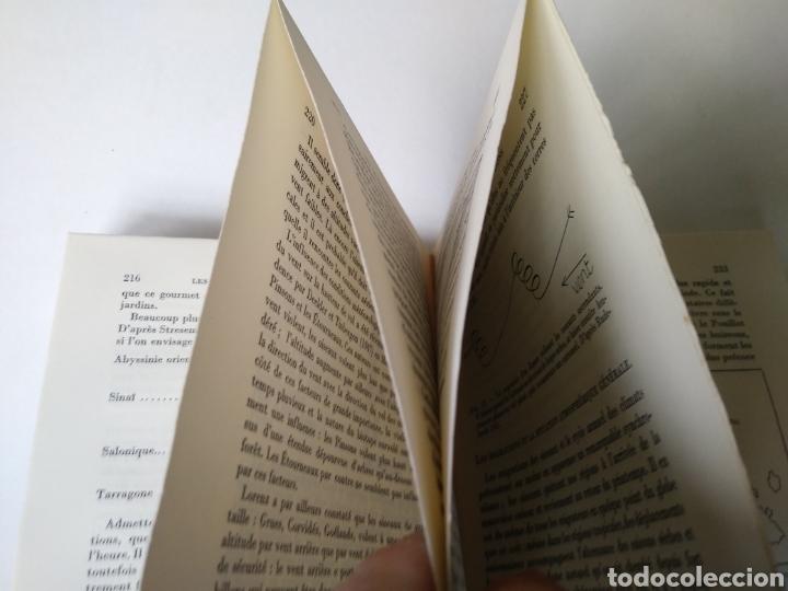 Libros de segunda mano: LES MIGRATIONS DES OISEAUX. PAYOT. PARIS 1956. LIBRO SOBRE MIGRACIONES DE PAJAROS. - Foto 4 - 159494870