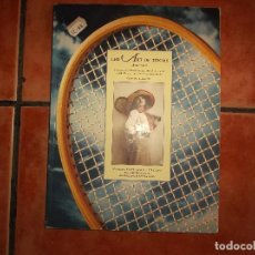 Libros de segunda mano: THE ART OF TENNIS 1874 -1940 ,GARY H. SCHWARTZ, MAGAZINE COVERS AND ILLUSTRATIONS POSTCARDS. Lote 159500234