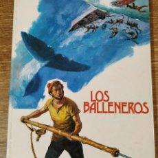 Libros de segunda mano: LIBRO ILUSTRADO - LOS BALLENEROS (1976) ED. RM. Lote 159514406