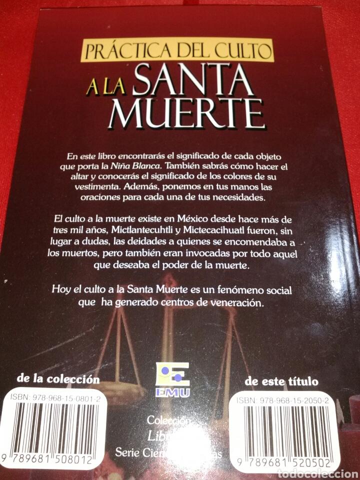 Libros de segunda mano: Santa Muerte. Libro. - Foto 2 - 159552389
