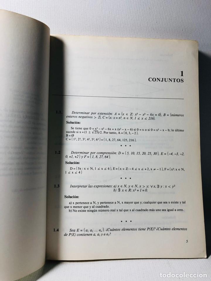 Libros de segunda mano: Álgebra lineal y geometría ••• ejercicios•• ed. Marfil - Foto 2 - 159560789