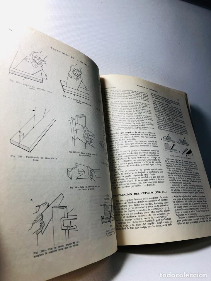 Libros de segunda mano: TECNOLOGIA DE LA MADERA ·· BIBLIOTECA PROFESIONAL EPS ·· ED. DON BOSCO ·· - Foto 4 - 159665962