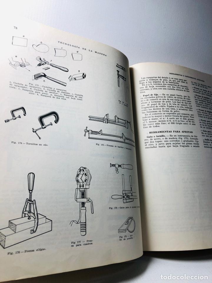 Libros de segunda mano: TECNOLOGIA DE LA MADERA ·· BIBLIOTECA PROFESIONAL EPS ·· ED. DON BOSCO ·· - Foto 5 - 159665962