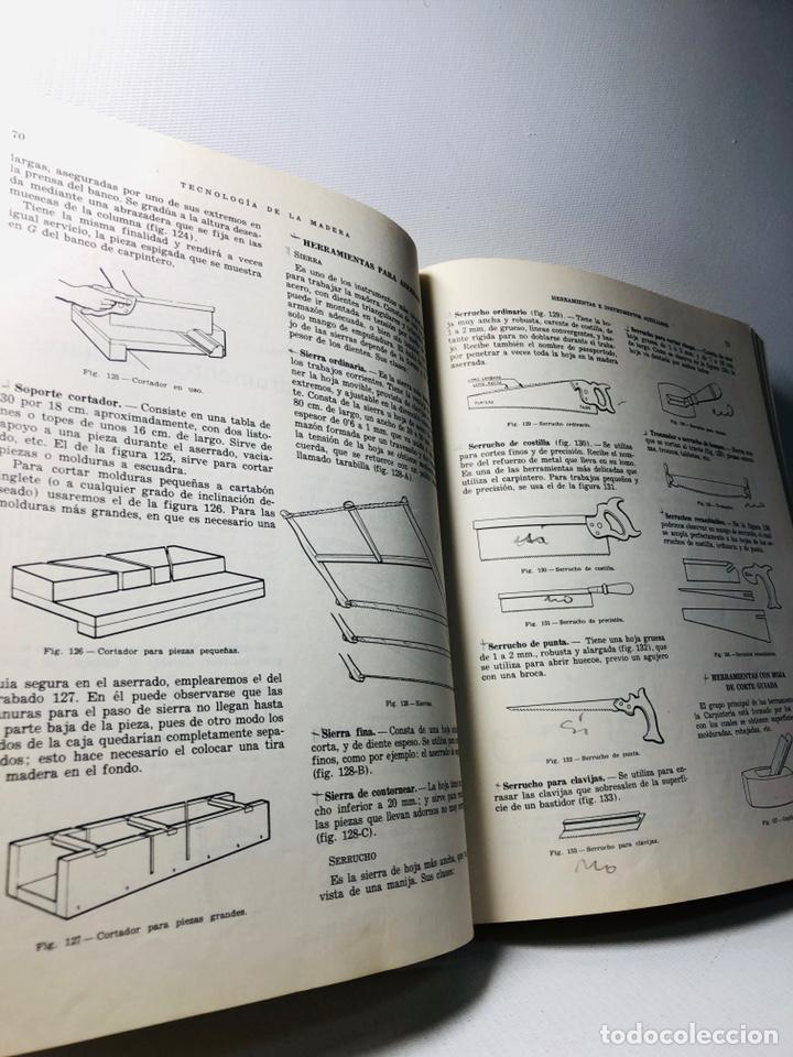 Libros de segunda mano: TECNOLOGIA DE LA MADERA ·· BIBLIOTECA PROFESIONAL EPS ·· ED. DON BOSCO ·· - Foto 6 - 159665962