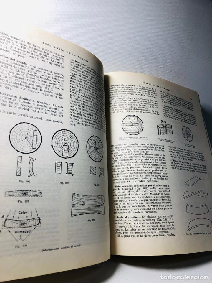 Libros de segunda mano: TECNOLOGIA DE LA MADERA ·· BIBLIOTECA PROFESIONAL EPS ·· ED. DON BOSCO ·· - Foto 7 - 159665962