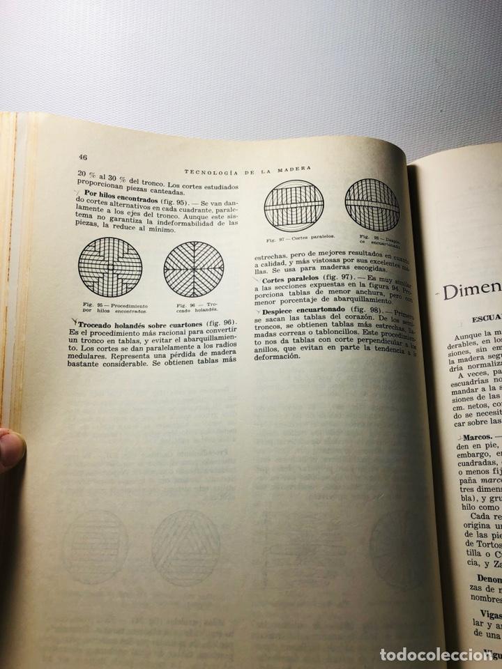 Libros de segunda mano: TECNOLOGIA DE LA MADERA ·· BIBLIOTECA PROFESIONAL EPS ·· ED. DON BOSCO ·· - Foto 8 - 159665962